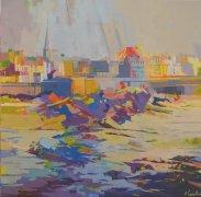 La forteresse, Saint Malo - 80x80